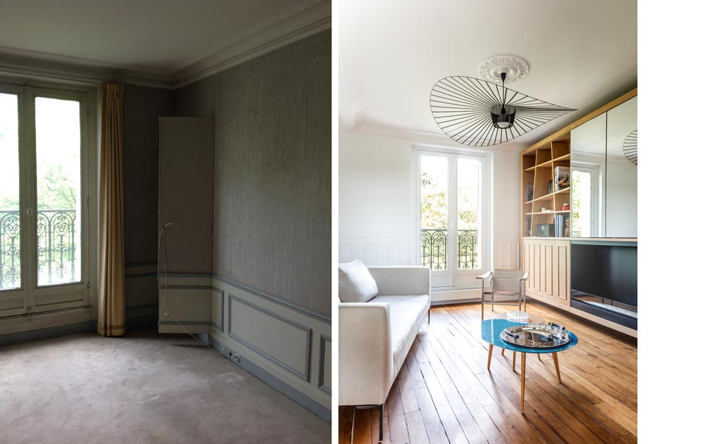 photos de r alisations d 39 un d corateur d 39 int rieur qui vous montre ses avant apr s nantes. Black Bedroom Furniture Sets. Home Design Ideas