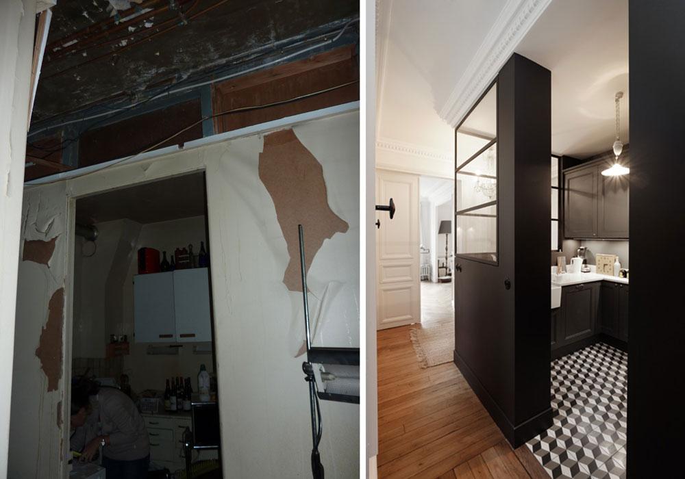 Emejing Rénovation Appartement Avant Après Ideas - Joshkrajcik.us ...