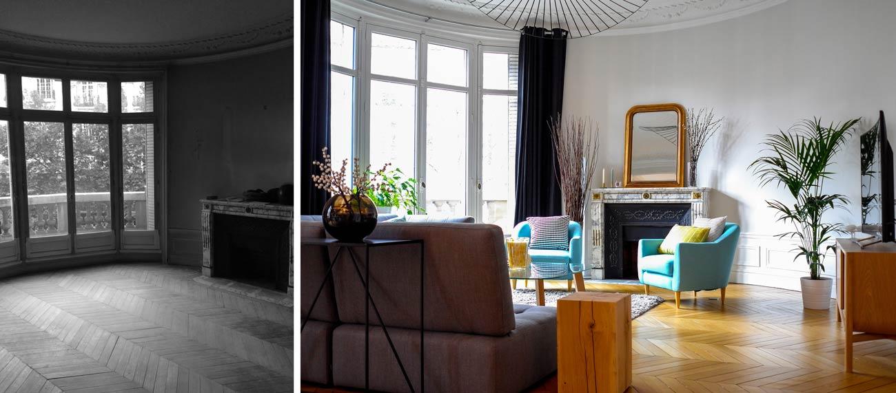 Rénovation d\'un appartement haussmannien de 230m2 | Créateurs d ...