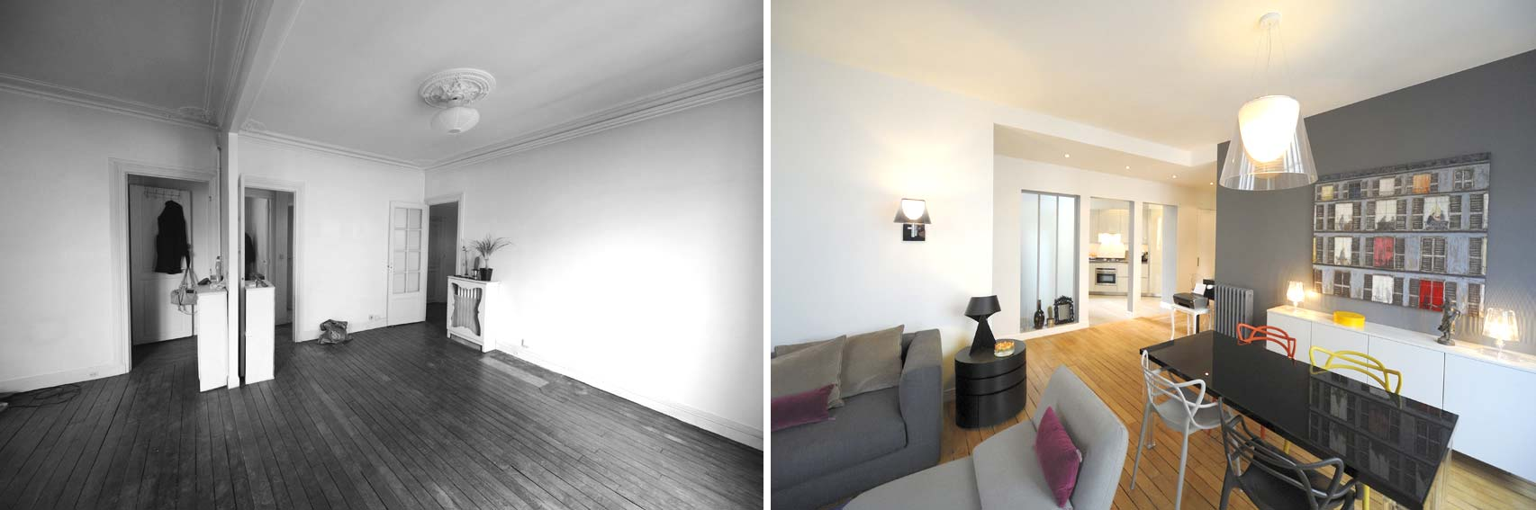 Avant Apr S Transformation D 39 Un Appartement De 65m2 Du