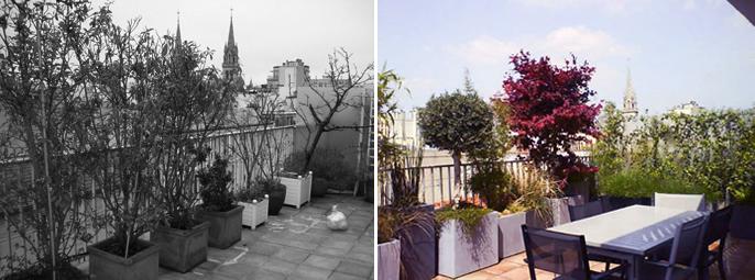Aménagement d\'une terrasse   Nantes