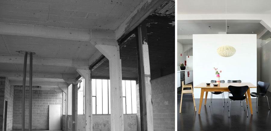 avant apr 233 s r 233 novation d un loft au design contemporain de 150m2