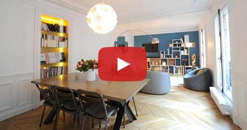 Vidéo de décoration et darchitecture dintérieur avec les membres du collectif des