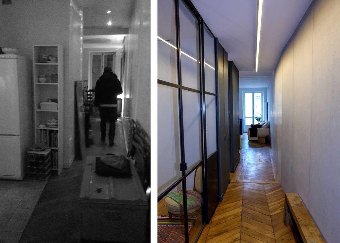 Relooking Appartement Avant Après transformation d'un studio en appartement de 2 pièces 55m2