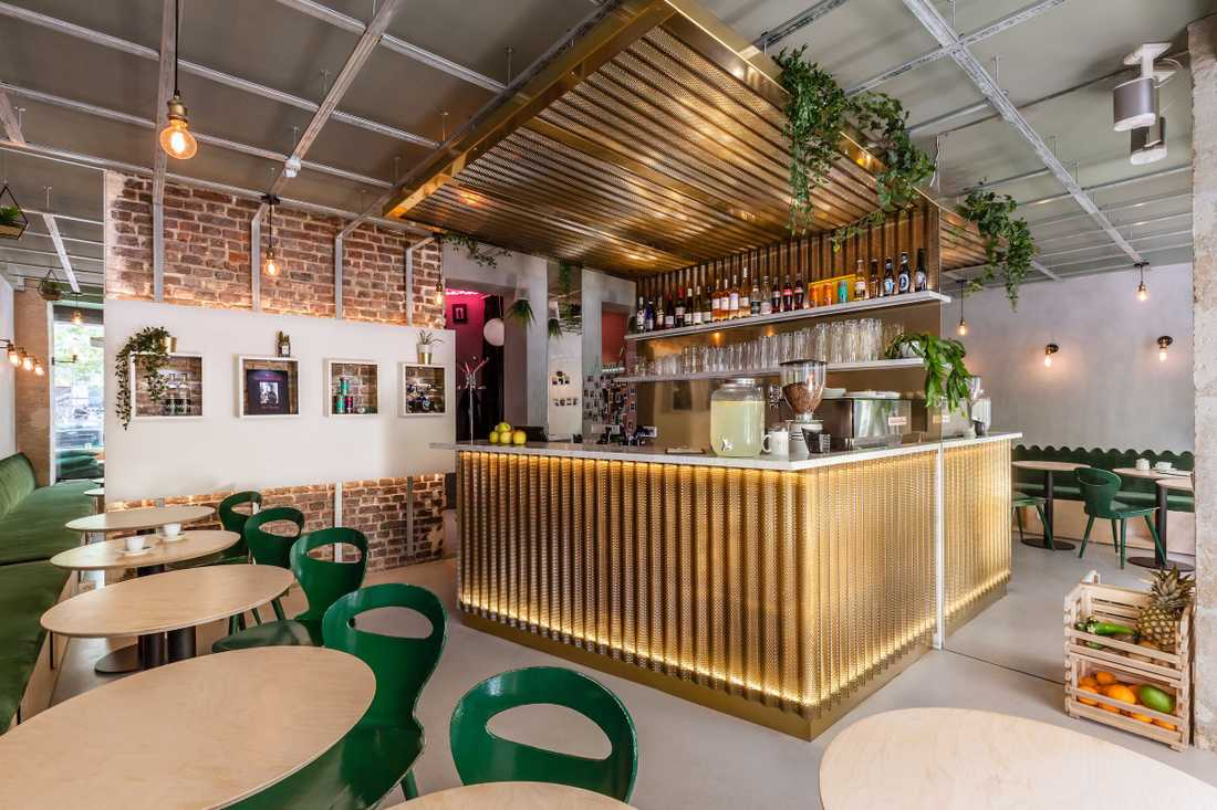 Rénovation d'un restaurant par un architecte d'interieur