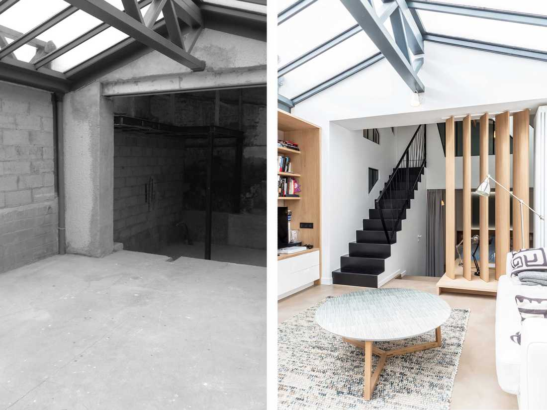 Restructuring of an industrial loft in Nantes